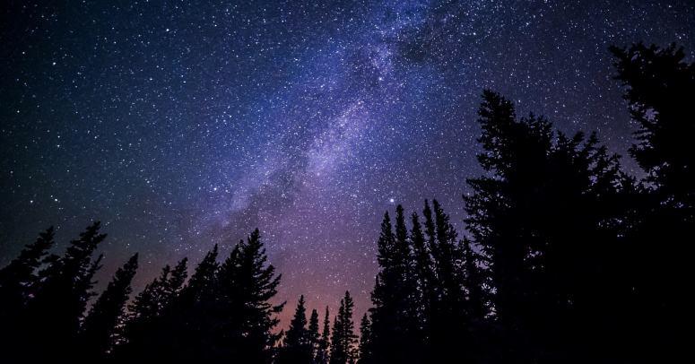 Nebo svemir noć